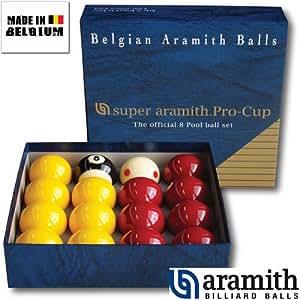 Aramith - Billes Pool Super Aramith Pro Aramith 50,8 mm