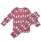 benetia Christmas Kids Pajamas Set Girls 5t 4t