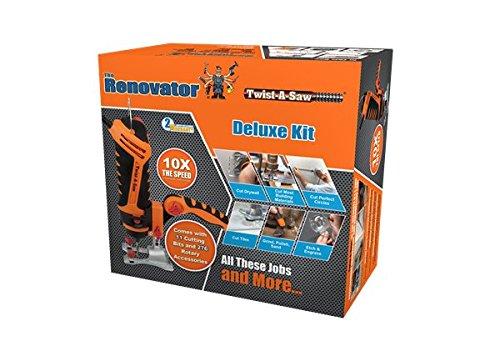 RENOVATOR TWIST-A-SAW L'outil multi-fonction ultra complet avec 258 accessoires - Vu à la Télé