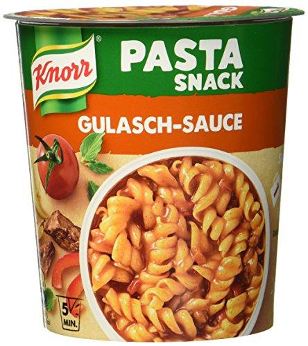 Preisvergleich Produktbild Knorr Snack Bar Pasta Snack Gulasch-Sauce 1 Portion