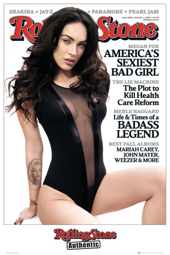 GB Eye Ltd, Rolling Stone, Megan Fox, Maxi Poster