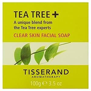 Tisserand Tea Tree Effacer la peau du visage Savon 100g