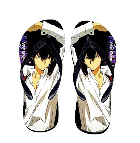 Bromeo Hitman Reborn Anime Unisex Flip Flops Zehentrenner Flip Pantoffeln 615