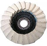 125 x 22,2 mm Polierscheibe Polierteller Schleifscheiben Fächerscheibe Glänz Polier Filz