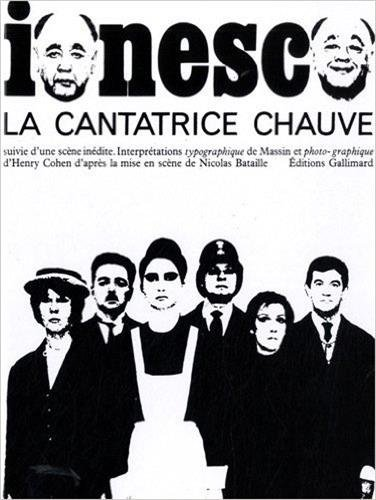 La Cantatrice chauve par Eugène Ionesco