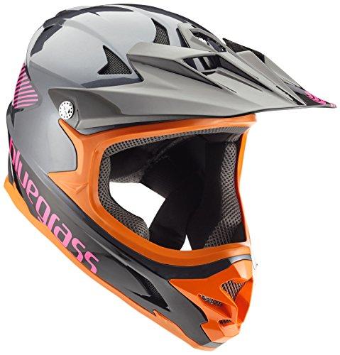 Bluegrass Helm Intox, Grey/Orange/Purple, 58-60 cm, 3HELG09L0NE