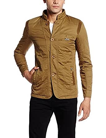 Fort Collins Men's Cotton Coat (6177-ol_XX-Large_Khaki)