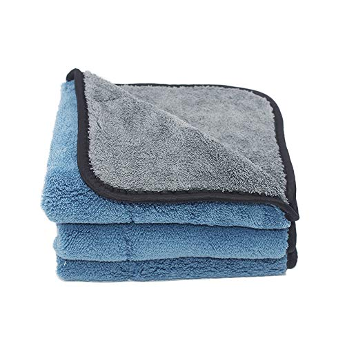 Serviette en Microfibre S/échage tissu Bleu Taille XL 60 x 90 cm de qualit/é commerciale