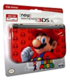 PDP - Cubierta Super Mario, Color Rojo (New Nintendo 3DS XL)