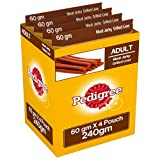 #3: Pedigree Meat Jerky Stix Dog Treats, Grilled Liver, 60 g Pouch (Pack of 4)