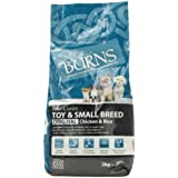 Burns Dog Food Pet Nutrition Adult Small/ Toy Breed 2kg