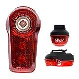 Smart R1 Super Bright 3 LED Rear Bike Light with Rucksack Clip