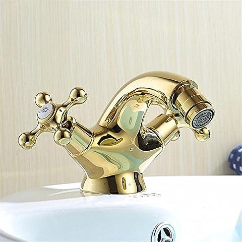 Modylee Europa stile oro Bidet rubinetto bagno bagno oro rubinetto