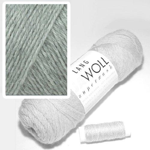 Lang Jawoll Superwash Sockenwolle Farbwahl (05 - grau) -
