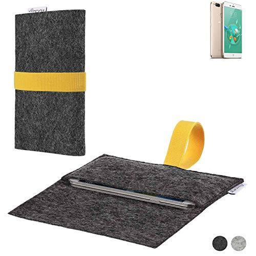 flat.design Handy Hülle Aveiro für Archos Diamond Alpha+ passgenaue Filz Tasche Case Sleeve Made in Germany