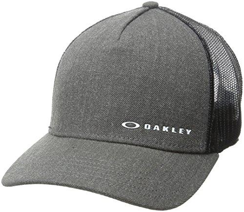 Oakley Herren Chalten Cap Adjustable Fit Hats, Jet Black, One Size