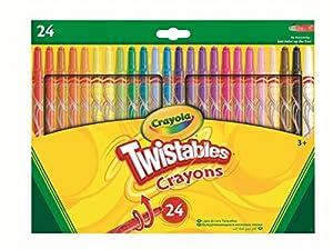 CRAYOLA 24 Twistable Crayons 24 Pieza(s) - Ceras (24 Pieza(s), Multi, Multicolor, Alrededor, Cera, 6 mm)