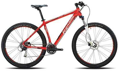 LEGNANO BICICLETA 600ANDALO 29DISCO 24V TALLA 52ROJO (MTB CON AMORTIGUACION)/BICYCLE 600ANDALO 29DISCO 24S SIZE 52RED (MTB FRONT SUSPENSION)