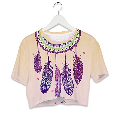 Fringoo - Débardeur - Femme multicolore Multicoloured Taille Unique Dreamcatcher - Tee