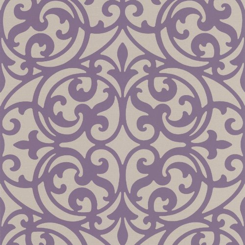 decorline-dl30627-sonata-purple-ironwork-wallpaper-purple