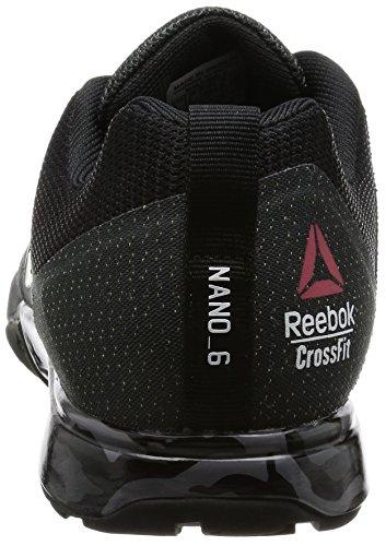 Reebok Crossfit Nano 6.0, Chaussures de Fitness Homme BD1164_40 EU_Gravel/Black/White/Pewter