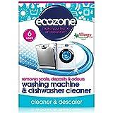 Ecozone Waschmaschine & Geschirrspüler Entkalker Tabletten pro Packung 6