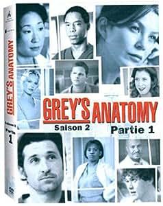 Grey's Anatomy - Saison 2, partie 1- Coffret 4 DVD: DVD