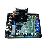 Festnight Regulador de voltaje automático, módulo de reguladores de excitación sin escobillas GAVR-8A para generador AVR universal