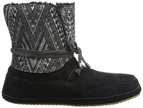 Sanuk Womens Soulshine Chill Snow Boot Black