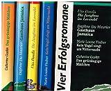 1. Die Jungfrau im Lavendel (Danella), 2. Gasthaus Jamaica (Du Maurier), 3. Kein Vogel singt um Mitternacht (Fischer), 4. Das grünäugige Mädchen (Gaskin) : Vier Erfolgsromane im Original-Schuber