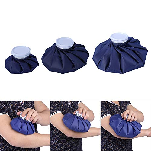Ruiqas 3 Größen Wiederverwendbare Muskelsportverletzung mit großer Kapazität Schmerzlinderung Erste-Hilfe-Kit Kalter Eisbeutel (Size : L) -