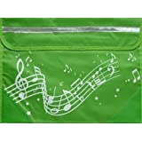 Musicwear: Wavy Stave Music Bag (Green)