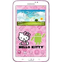 Samsung Galaxy Tab 3 Hello Kitty Design 17,7 cm (7 Zoll) Tablet (1,2 GHz Dual-Core-Prozessor, 1GB RAM, 3,2 Megapixel Kamera, WiFi, Android 4.1) weiß