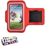 "Tonic-""Sportarmband aus Neopren für Samsung Galaxy S4/I9500, Rot"
