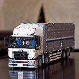 Mogicry Génie mécanique Technique Big Truck Sages d'assemblage bénéfiques Blocs 4380 Pcs Building Blocks Jouet électrique Convient Anniversaire Cadeau Cadeau