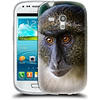Super Galaxy Soft Flexible TPU Slim Fit Cover Case // V00003899 sykes monkey mount kenya // Samsung Galaxy S3 MINI i8190
