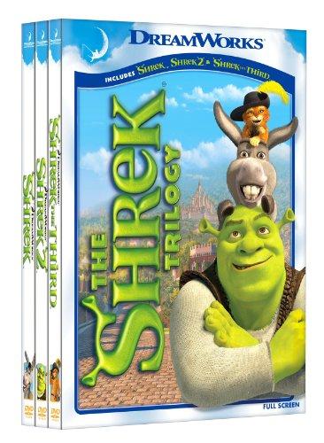 Click for larger image of Shrek Trilogy [DVD] [Region 1] [US Import] [NTSC]
