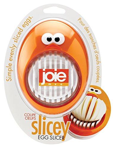 Joie 50577-Eierschneider Slicey, weiß und orange