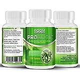 Probiotiques 10 milliards de CFUS 120 Comprimés | # 1 Supplément d'enzymes probiotiques évalué | Probiotiques...