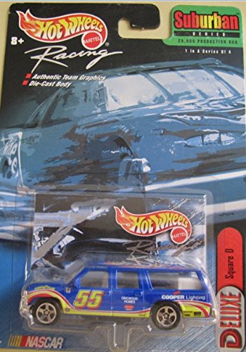 1to64 - NASCAR - Hot Wheels Racing - SURBURBAN SERIES 2000 -Square D (Square D-box)