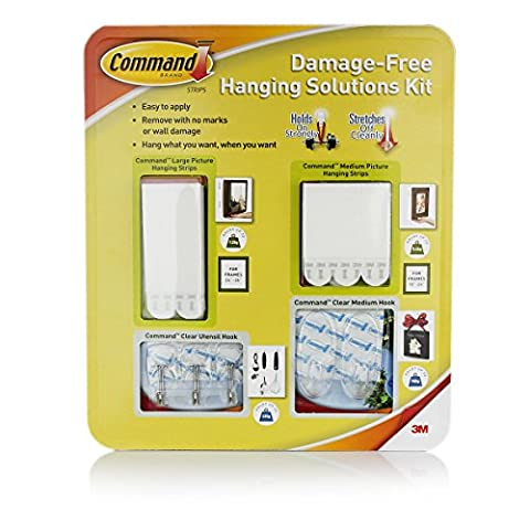 Damage-Free Hanging Solutions Kit