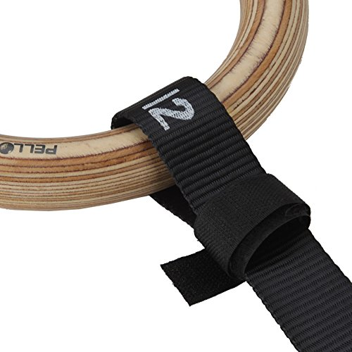 510PuE6QJxL. SS500  - Pellor Olympic Gymnastic Rings Gym Straps with number and quick-lock buckles For Upper Body Strength And Bodyweight…