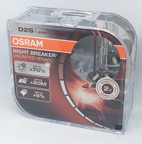 Preisvergleich Produktbild Xenon OSRAM Xenarc Night Breaker Unlimited D2S 35 W 66240XNB