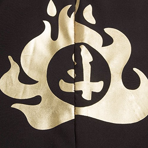 Katara 1771 - Ninja Kostüm Anzug - Kinder Jungen-Verkleidung zum Fasching, Karneval - Kids Kampf-Onesie Overall Outfit für Jungs und Echte Krieger, Grün, Größe L (140/146/152), Grün-Schwarz -