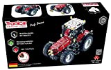 Metal Construction Model Kit, MASSEY FERGUSON MF-8690, Tractor, 1024 parts, Tronico© Germany, including tools, metal mechanical construction, kids metal kits, metal mechanics kits