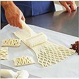 Edealing 1X Nueva Hornear Herramienta Cookies Pie Pizza Pastelería Entramado rodillo cortador