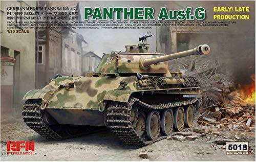 RYE FIELD MODEL RFM5018 - Maqueta de Coche SD. 171 Panther AUSF.G - Bolso