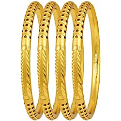 Jewels Galaxy Designer Gold Plated Bangles