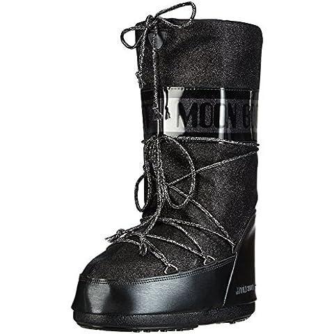 Tecnica Moon Boot Delux Nero - Zapatos de deporte de exterior Mujer
