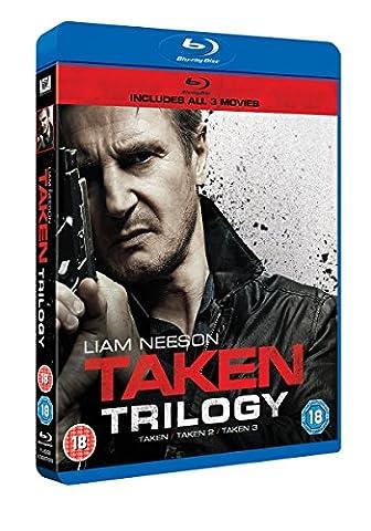 Taken/Taken 2/Taken 3 (3 Blu-Ray) [Edizione: Regno Unito] [Import anglais]